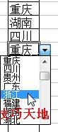 Excel2003数据有效性的使用