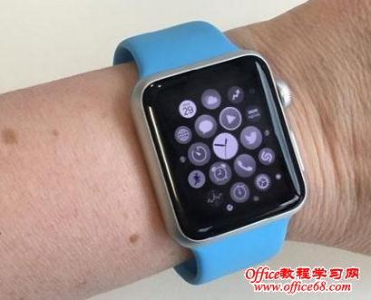 apple watch中灰度模式