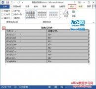 如何快速将Word 2013中的表格转换为文本