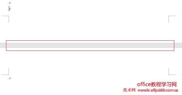Word 2016 双击左键,页面间空白又显示出来