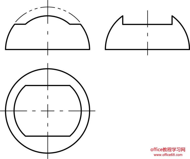 (原创教程)用PowerPoint绘制机械图样的几个难点的解决办法 - 刘老师 - 天津劳技