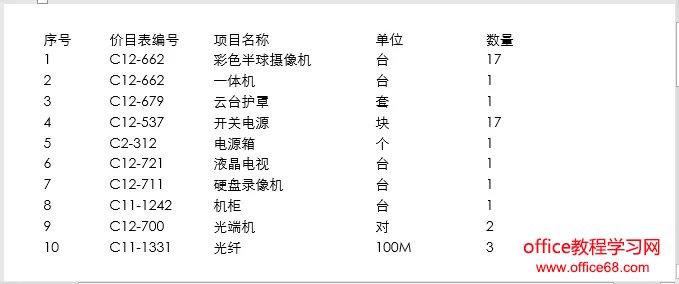 word制表符