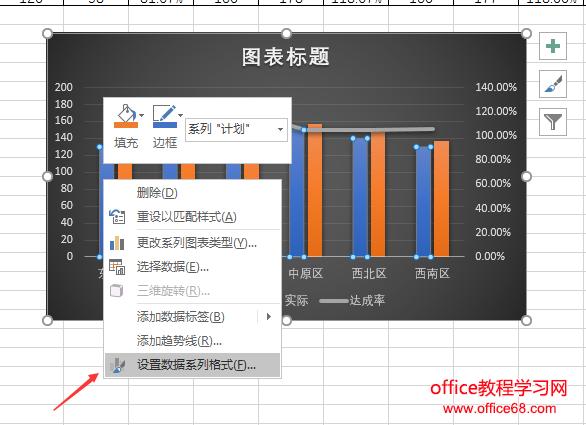 设置数据系列格式