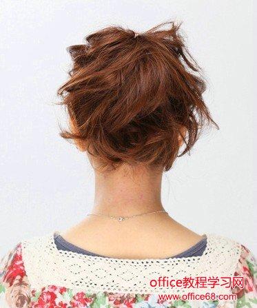 梳头发的方法图解
